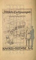 Knorr Bremse AG Berlin Automobil 3x Werbeanzeige von 1926 Reklame Werbung ad
