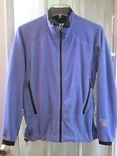 Mountain Hard Wear Mid-Blue Full Zip Long/S Polartec Fleece Jacket Women 8 **EX*