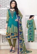 Elegant Crepe Designer Printed Unstitched Dress Material Suit D.No SFD11002