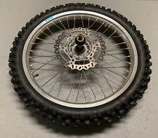 "21"" Dirt Bike Wheel Yamaha YZ front wheel tire Takasago Excel 21 1.60"