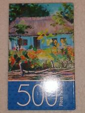 Cardinal 500 Pieces Ukrainian Village New Puzzle