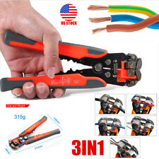 Professional Wire Striper Cutter Stripper Crimper Pliers Electric Cable Cutting