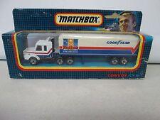 Matchbox Convoy CY-16 Scania Box Truck Goodyear