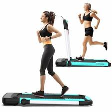 Electric Folding Treadmill with APP Remote Control 2 in 1 Walking & Running