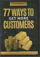 77 WAYS TO GET MORE CUSTOMERS - Chris Cardell - DVD (2-DISC SET)