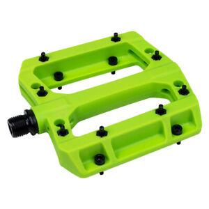 """VP Bike Pedals Nylon Fiber 9/16"""" Lightweight Non-Slip Double Sealed Ball Bearing"""