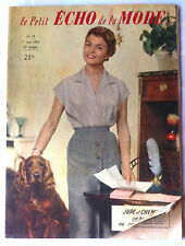 Le petit echo de la mode n°18 du 5/1955; Mode; La parade du muguet
