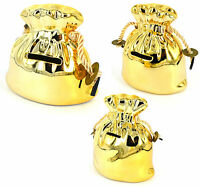 Golden Money Box - Pot Of Gold Money Banks - Lucky Fortune Money Storage