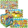 Trefl Grand 8 Pièces Éducatif 5 IN 1 Mousse Puzzle Enfants City Ferme Zoo