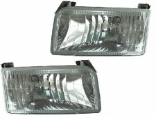 FLEETWOOD BOUNDER 2000 2001 2002 CLEAR HEADLIGHTS HEAD LIGHTS LAMPS RV - SET