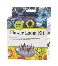 Dritz Flower Loom Kit - Knitting Tool - 1 kit - Tassel Maker and More fnt