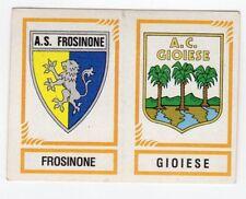 figurina CALCIATORI PANINI 1982/83 NEW numero 595 FROSINONE GIOIESE