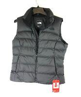 The North Face, Women's Nuptse Vest, Black Insulated Vest, Size Medium