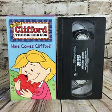 Clifford The Big Red Dog Here Comes Clifford Scholastic VHS Cassette Tape