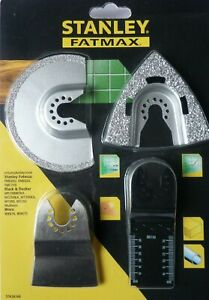 Stanley FatMax Oscillator 4 PC Tiling Set STA26160