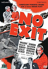 NO EXIT DVD Valerie Hobson Leslie Perrins Norman Lee Original UK Release New R2
