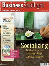 Business Spotlight 1 2014 English Socializing Key business terms Agreement Caree
