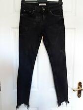 """Zara Black Denim Stretch Skinny Jeans W28"""" L28"""""""