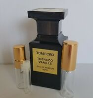 Tom Ford TOBACCO VANILLE EDP 1 ml 3 ml 5 ml Mini Sample Decant
