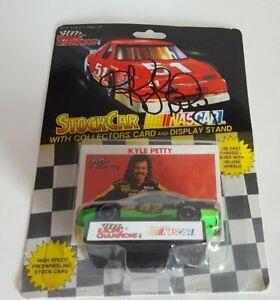 Autographed Vintage 1992 Racing Champions Kyle Petty Die Cast Car #42 NASCAR