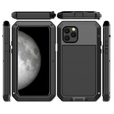 F iPhone 11 Pro Max 8 Plus XS XR Metal Shockproof Aluminum HEAVY DUTY Case Cover