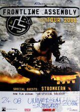 FRONTLINE ASSEMBLY - 2006-concert affiche-stromkern-Tourposter-Stuttgart