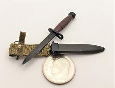 DID Sam WWII 77th division bayonet 1/6 toys Dragon Soldier GI knife bbi alert