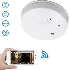 WiFi Hidden Camera Spy Camera Smoke Detector, DareTang HD 1080P Motion Detection