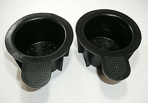 1999 98-02 Ford Mustang Navigator Expedition Front Console Cup Holder Insert (2)
