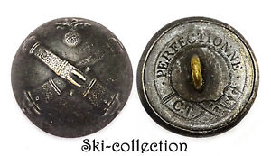 Button Officer of / The Train Artillery (1873-1883) France 20 MM