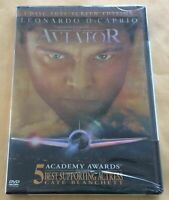FACTORY SEALED The Aviator Leonardo DiCaprio DVD 2005 2-Disc Set Full Frame