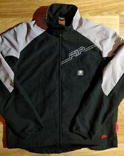 Nike Air Max Vintage Mens Tracksuit Top Jacket Windbreaker Black Gray