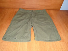 New Mens Size 31 31W Old Navy Green Shorts At Knee Casual Cotton