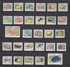 (RP11A) PHILIPPINES - 2011 COMPLETE REGULAR STAMPS SET - MARINE LIFE FISH. MUH