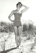 1940s-60s B&W (4 x 6) Repro Risque Pinup RP- Bathing Beauty- Legs- Swimsuit