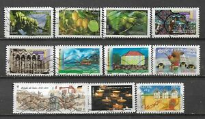 FRANCE, 11 VARIOUS, USED
