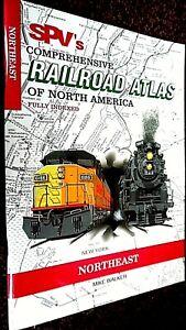 SPV'S COMPREHENSIVE RAILROAD ATLAS OF NORTH AMERICA: NORTHEAST (1998)
