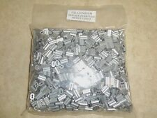 1000 3/32 Aluminum Double Ferrules Traps Trapping Snares (1000 Pack)