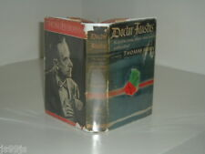 DOCTOR FAUSTUS By THOMAS MANN 1948 first edition
