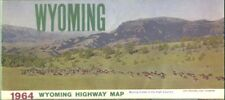 1964 Wyoming State Issued Map