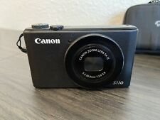 Canon PowerShot S110 + Extras   12.1MP, 3-Inch LCD, Black