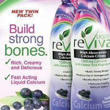 LIQUID reViva Calcium, 64 Ounces - NEW