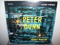 HENRY MANCINI / MUSIC FROM PETER GUNN / LP / 1959 / NEAR MINT STEREO LSP-1956