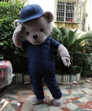 Halloween Teddy Bear Mascot Costume ancy Dress party game cosplay FEVA Adults