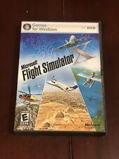 Microsoft Flight Simulator X Windows PC Game 2006 (2) DVD-ROM Set