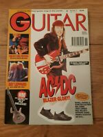 GUITAR MAGAZINE VOL.5 NO.11 ( NOVEMBER 1995 ) RED HOT CHILLI PEPPERS ACDC