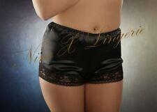 Nine X - French Satin Knickers With Lace Trim S M L XL 2xl 3xl Red 12 Black