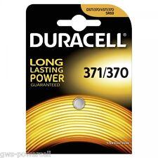 1 x Duracell 371 / 370 SR920SW SR920W V371 UHREN BATTERIE 635706 BATTERY AG6