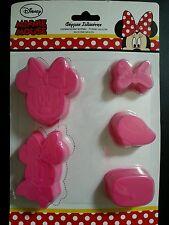 Disney Silikon 5teilig kleine Minnie Mouse Backform Kuchenform Silicone Mold new