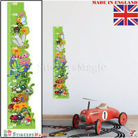 HEIGHT CHART Wall Sticker Kids Growth Chart Childrens Measuring Decal Nursery